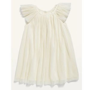 NWT Old Navy 4T Pleated crinkle dress